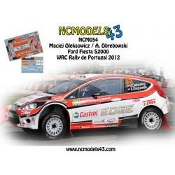 Maciej Oleksowicz - Ford Fiesta S2000 - Rally de Portugal 2012