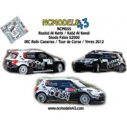 Rashid Al Ketbi - Skoda Fabia S2000 - Rally Canarias, Tour de Corse, Ypres 2012