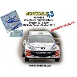 Craig Breen - Peugeot 207 S2000 - Circuit of Ireland Rally 2012