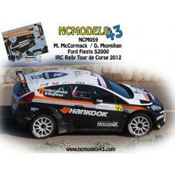 Marty McCormack - Ford Fiesta S2000 - Rally Tour de Corse 2012