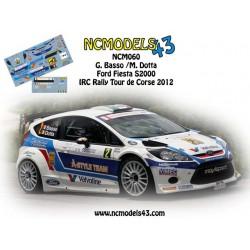 Giandomenico Basso - Ford Fiesta RRC - Rally Tour de Corse 2012