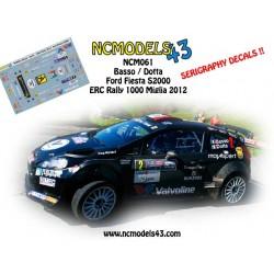 Giandomenico Basso - Ford Fiesta RRC - Rally 1000 Miglia 2012