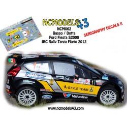 Giandomenico Basso - Ford Fiesta RRC - Rally Targa Florio 2012