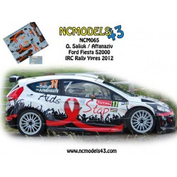 Oleksandr Saliuk - Ford Fiesta S2000 - Rally Ypres 2012