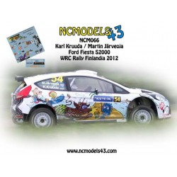 Karl Kruuda - Ford Fiesta S2000 - Rally Finland 2012