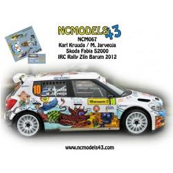 Karl Kruuda - Skoda Fabia S2000 - Rally Barum 2012