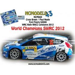 Craig Breen - Ford Fiesta S2000 - Rally Spain Catalunya 2012