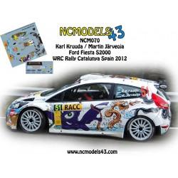 Karl Kruuda - Ford Fiesta S2000 - Rally Spain Catalunya 2012