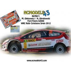 Maciej Oleksowicz - Ford Fiesta S2000 - Rally SPAIN Catalunya 2012