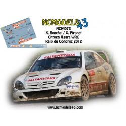 Xavier Bouche - Citroen Xsara WRC - Rally du Condroz Huy 2012