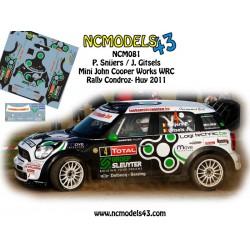 Patrick Snijers - Mini John Cooper WRC - Rally du Condroz Huy 2011