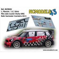 Luis Monzón - Mini John Cooper Works WRC - Rally Santander 2013