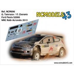 Oleksii Tamrazov - Ford Fiesta RRC - Rally Acropolis 2013