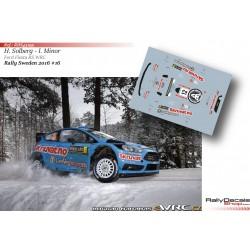 Henning Solberg - Ford Fiesta WRC - Rally Sweden 2016