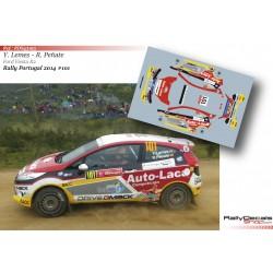 Yeray Lemes - Ford Fiesta R2 - Rally Portugal 2014
