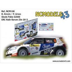 Roman Kresta - Skoda Fabia S2000 - Rally Barum 2013