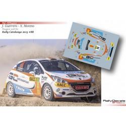 Joel Guerrero - Peugeot 208 R2 - Rally Catalunya 2015