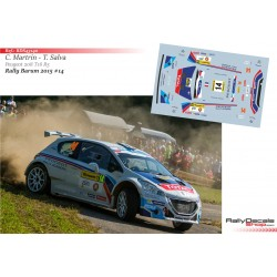 Charles Martin - Peugeot 208 T16 - Rally Barum 2015