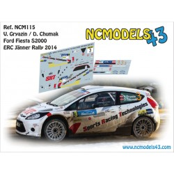 Vasiliy Gryazin - Ford Fiesta S2000 - Rally Janner 2014