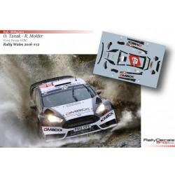 Ott Tanak - Ford Fiesta WRC - Rally Wales 2016