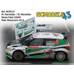 Matthieu Mragaillan - Skoda Fabia S2000 - Rally Montecarlo 2014