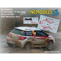 Sébastien Chardonnet - Citroen DS3 R3T Max - Rally Montecarlo 2014
