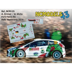 Armin Kremer - Ford Fiesta R5 - Rally Montecarlo 2014