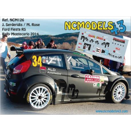 Jourdan Serderidis - Ford Fiesta R5 - Rally Montecarlo 2014