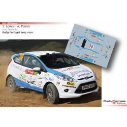Yeray Lemes - Ford Fiesta R2 - Rally Portugal 2013
