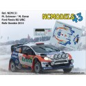 Michal Solowow - Ford Fiesta RS WRC - Rally Sweden 2014