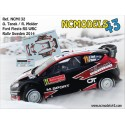 Ott Tanak - Ford Fiesta RS WRC - Rally Sweden 2014