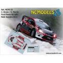 Craig Breen - Ford Fiesta RS WRC - Rally Sweden 2014