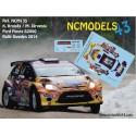 Karl Kruuda - Ford Fiesta S2000 - Rally Sweden 2014