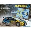 Oleksii Tamrazov - Ford Fiesta S2000 - Rally Liepaja 2014