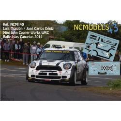 Luis Monzón - Mini John Cooper Works WRC - Rally Islas Canarias 2014