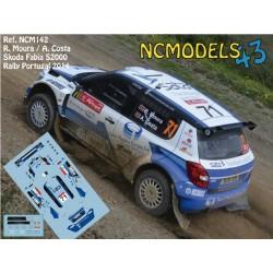Ricardo Moura - Skoda Fabia S2000 - Rally Portugal 2014