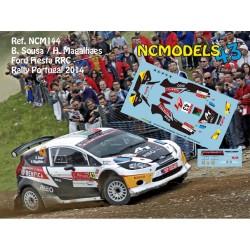 Bernardo Sousa - Ford Fiesta RRC - Rally Portugal 2014