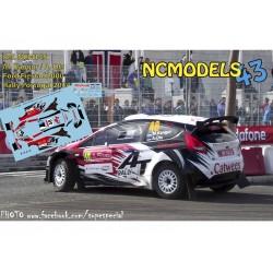 Martin Kangur - Ford Fiesta S2000 - Rally Portugal 2014