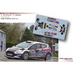Adrian Fernémont - Ford Fiesta R5 - Rally Wallonie 2016