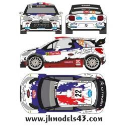 Bryan Bouffier - Citroen DS3 WRC - Rally Montecarlo 2013