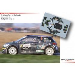 Bert Cornelis - Citroen DS3 R5 - Rally TAC 2017