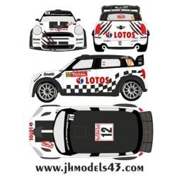 Michal Kosciuszko - Mini John Cooper Works WRC - Rally Montecarlo 2013