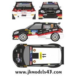 Jan Cerny - Skoda Fabia S2000 - Rally Janner 2013