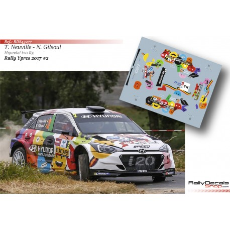 Thierry Neuville - Hyundai i20 R5 - Rally Ypres 2017