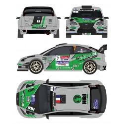 Jean Carles Beaubelique - Ford Focus WRC - Rally Touquet 2013