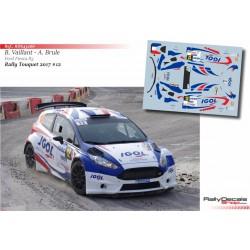 Benoit Vaillant - Ford Fiesta R5 - Rally Touquet 2017
