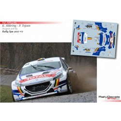 Kevin Abbring - Peugeot 208 R5 - Rally Spa 2017