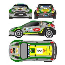 Daniel Oliveira - Ford Fiesta RRC - Rally Islas Canarias 2013