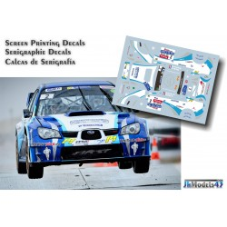 Eric Brunson - Subaru Impreza WRC - Rally Touquet 2013