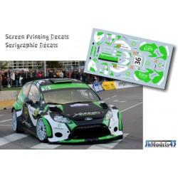 Yazzed Al Rajhi - Ford Fiesta RRC - Rally France Alsace 2012
